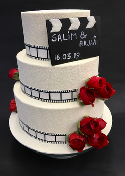 Wedding cake Hollywood