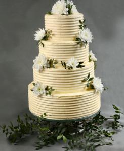 Wedding cake texturé
