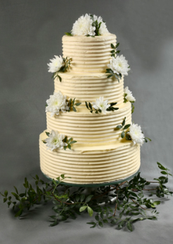 Wedding cake texturé