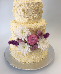 Wedding cake chocolat blanc