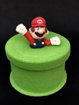 Gâteau d'anniversaire Mario Bros