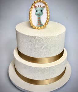 Gâteau anniversaire sophie la girafe