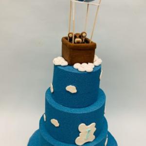 Gâteau d'anniversaire ballon dirigeable