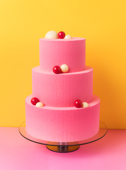 Gâteau d'anniversaire trois étages