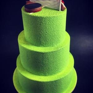 Gâteau d'anniversaire tennis de table