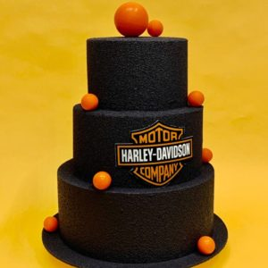 "alt=""gâteau harley davidson"""